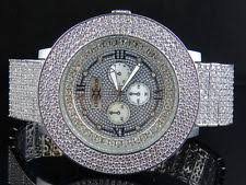 joe rodeo diamond watch mens khronos joe rodeo techno bling master white lab simulated diamond watch