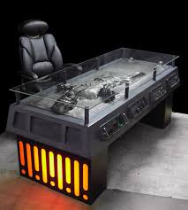 coolest office desk. Han Solo Frozen In Carbonite Desk Coolest Office Desk