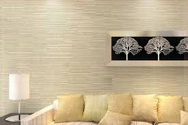 cream wallpaper ideas for living room