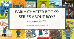 first chapter books about boys for kids ages 6 10