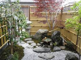 Small Picture Japanese garden design ideas patio design bamboo fence garden