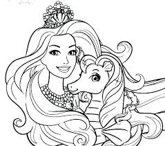 Barbie Coloring Pages To Print Barbie Coloring Pages Barbie Coloring