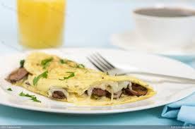 breakfast mushroom and cheese omelette breakfast mushroom and cheese omelette