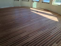 teak and holly boat flooring