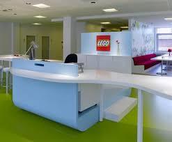 creative office interior design. Build Office Interior With Green Shades Design Creative