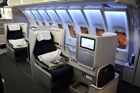 British Airways Business Class Seating Chart Review Of British Airways Flight From Washington To London