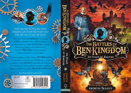 once david s cover artwork was plete i then designed the back cover and spine following the style of book one