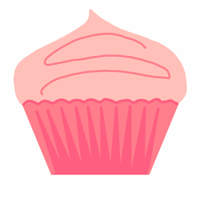 Cupcakes Clipart Danasrhi Top Pink Cupcake Free Png Images