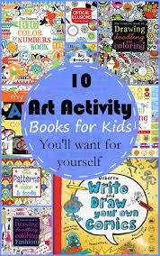 10 art activity books for kids
