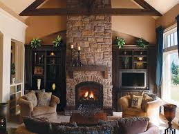 Fireplace Kits Indoor Beauteous Artificial Stone Fireplace 18 Photos Of The  Classic Design Of . Design