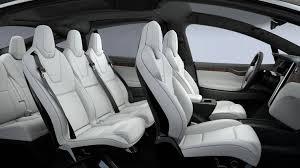model x tesla inside. tesla model x p100d with optional 7 seats inside t