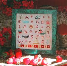 Mermaid Sampler Cross Stitch Chart