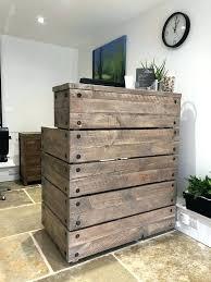 image 0 rustic reception desk wooden reclaimed wood industrial reception desk