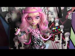 monster high viperine gorgon frights camera action review video d