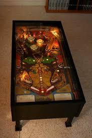 building a pinball machine coffee table