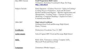 High School Student Resume Examples No Work Experience Nfcnbarroom Com