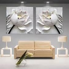 <b>Modular Pictures</b> 3D Art Flower Lotus Poster <b>Wall</b> Art <b>Modular</b> ...