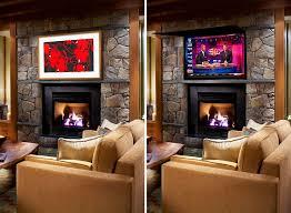hide tv frame tv cover tv frames