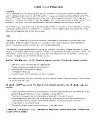 apa lit review apa article review apa article review template of literature review apa style paper example resume and