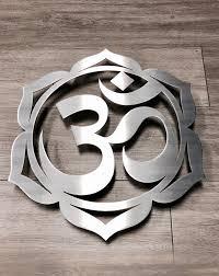om lotus metal wall art on om symbol wall art with om lotus metal wall art inspire metals