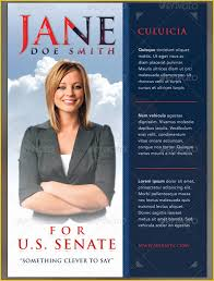 Campaign Brochure Political Campaign Templates Free Of 10 Best Of Campaign