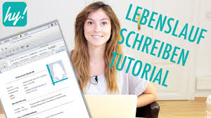 Lebenslauf Schreiben Muster Macbook Word Tutorial Youtube