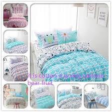 2016 new 100 cotton owl bedding sets home textile set twin intended for comforter remodel 9