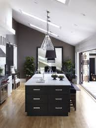 gray paint for kitchen walls. grey wall in black and white kitchen cool house california stuns with lavish interiors open space gray paint for walls