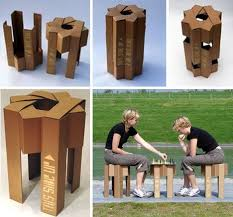 cardboard furniture design. Designed For Everything Dorm Rooms To Interactive Childrenu0027s Playrooms Or Even Conventional Living The Creative Cardboard Chair And Stool Designs Furniture Design