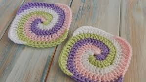 Easy Crochet Granny Squares Free Patterns Cool How To Crochet A Spiral Granny Square YouTube