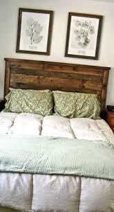 first project reclaimed wood look queen headboard
