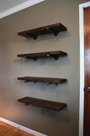 pipe shelves pipe bracket shelving black pipe corner shelves pipe shelves