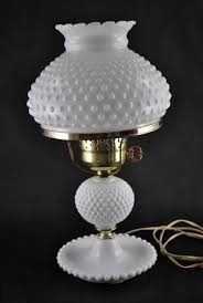 fenton hobnail milk glass lamps milk glass electric lamps