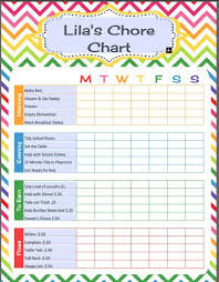 Editable Chore Chart For Adults Editable Morning Routine Chart For Adults Www