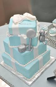 Table Setting For Tiffany And Co Baby Shower Theme  Yummy Tiffany And Co Themed Baby Shower