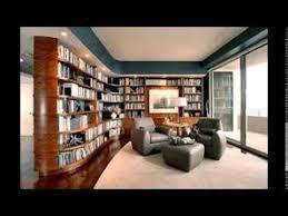 Modern home library design Modern Bedroom Youtube Modern Home Library Design Youtube