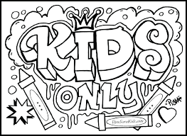 Coloring Pages For Kids Cool Coloring Pages For Kids 0 Coloring