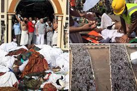 「1990, Mecca pilgrims fell down killing 1426 newspaper articles」の画像検索結果