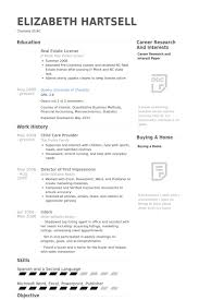Child Care Provider Resume samples - VisualCV resume samples database