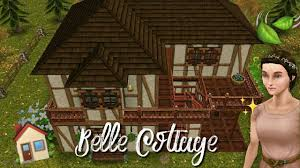 🍃Princess Belle Cottage🏡 - Stacie Sims Freeplay - YouTube