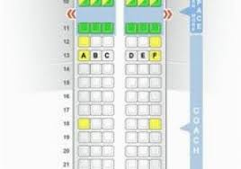Embraer E90 Seating Chart Air Canada E90 Seat Map Beautiful 38 Md88 Seat Map Images