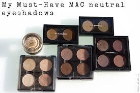 my must have mac neutral eyeshadows