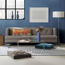 view in gallery velvet grey 23 floor cushion