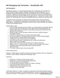 Sample Cover Letter Microbiology Lab Technician Adriangatton Com