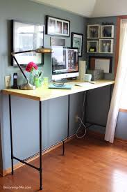 Full Size of Home Desk:96 Excellent Build A Standing Desk Image Ideas  Finished Stand ...