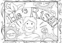 Free Christian Easter Coloring Pages Printable With Jesus Loves Me