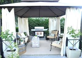 canopy outdoor patio curtains significant concepts with screen backyard screened