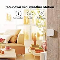 <b>Aqara Temperature</b> and <b>Humidity Sensor</b>, REQUIRES <b>AQARA</b> HUB ...
