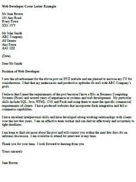 software tester cover letter example   job   pinterest   cover    web developer cover letter example