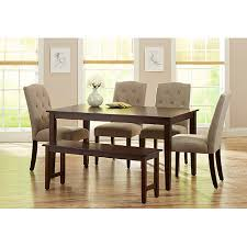 brilliant dining set for 6 dining room sets walmart on dining room walmart